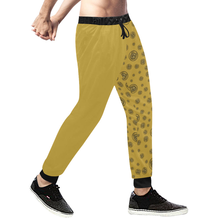Gummi Mens Gold Plus Size Pants