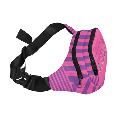 Cheshire Stripe Split Waist Bag
