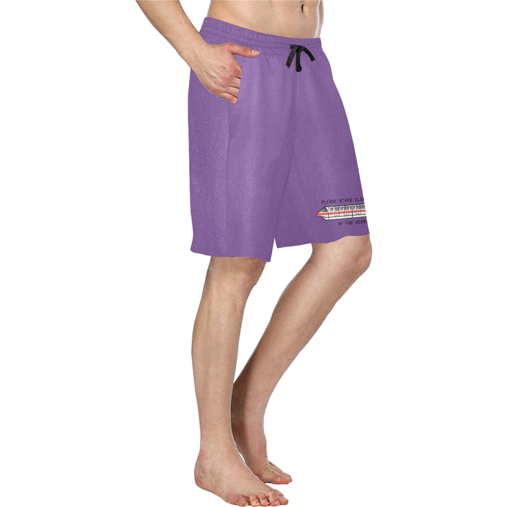 Monorail Mens Purple Shorts
