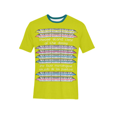 Monorail Lime Green T-Shirt