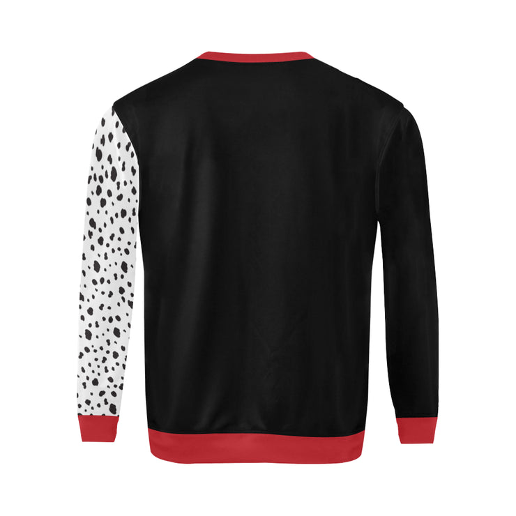 Haus De Vil Mens Plus Size Sweatshirt