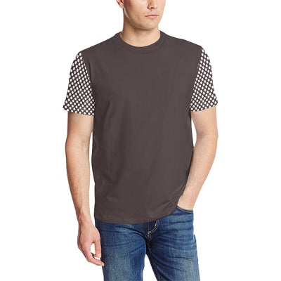 Vintage Dots Split T-Shirt