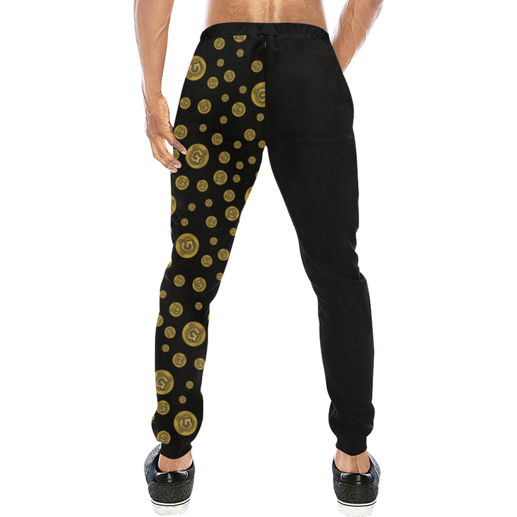 Gummi Mens Black Plus Size Pants