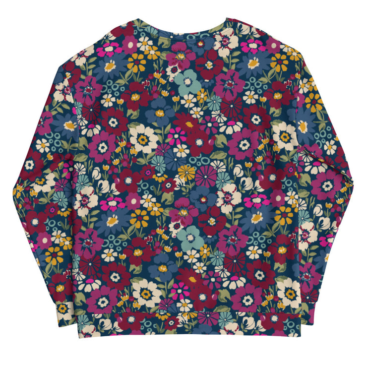 Pan Hat London Floral Unisex Sweatshirt