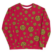 Gummi Unisex Red Sweatshirt