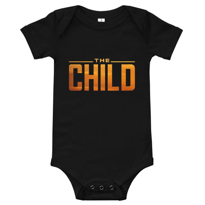 The Child Infant Black Bodysuit