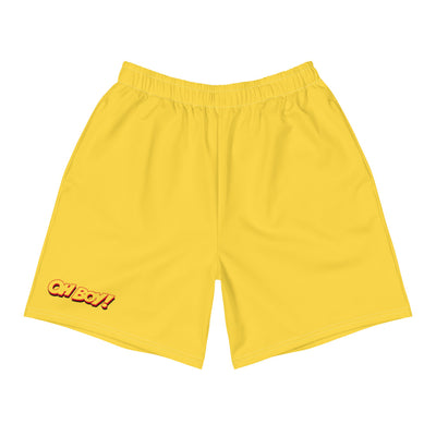 Oh Boy! Signature Yellow Shorts