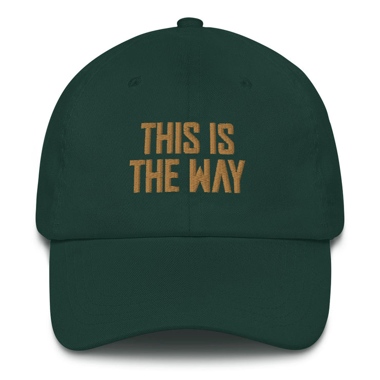 This Is The Way Green Director Hat