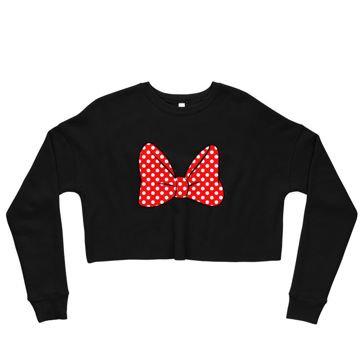 Bow Cropped Sweatshirt