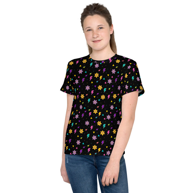 Powerline Youth Black T-Shirt