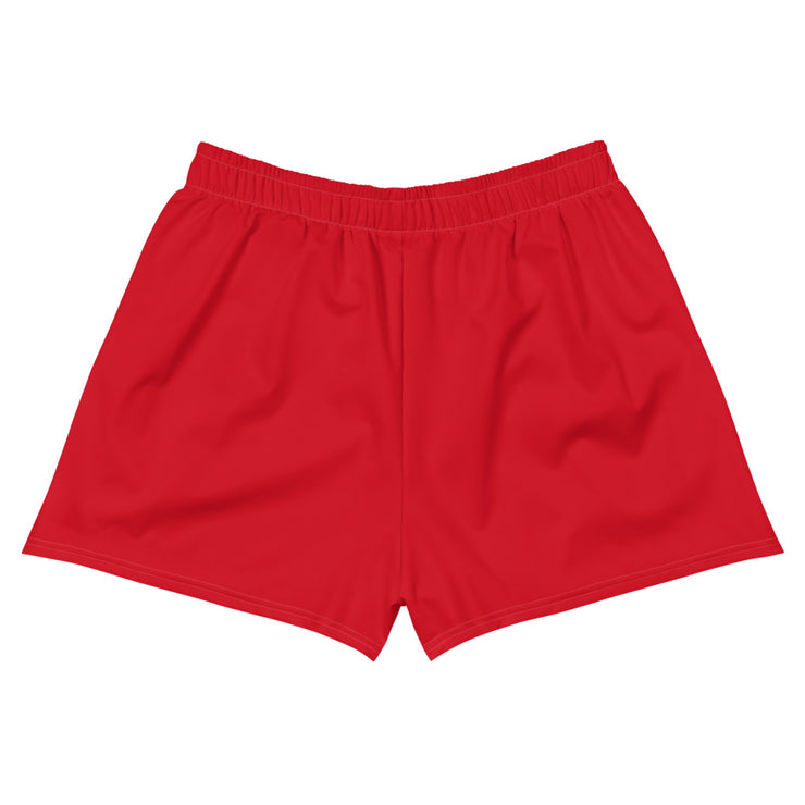 Oh Boy! Signature Womens Red Athletic Short Shorts