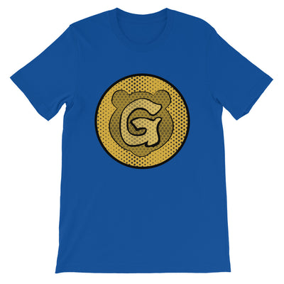 Gummi Unisex Blue Icon T-Shirt