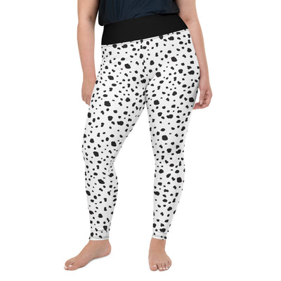 Dalmatian Plus Size Leggings