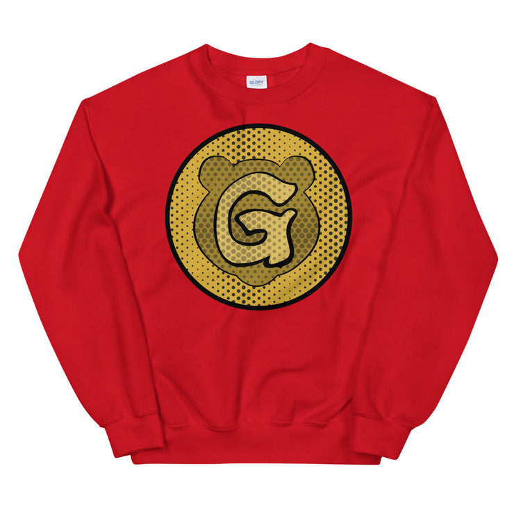 Gummi Unisex Red Icon Sweatshirt