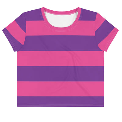 Cheshire Stripe Crop T-Shirt