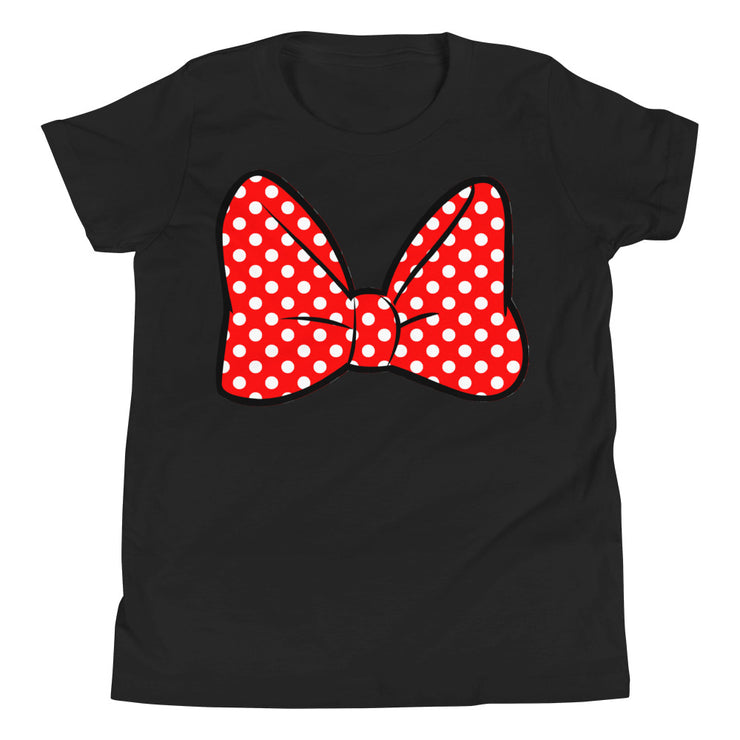 Bow Youth Black T-Shirt