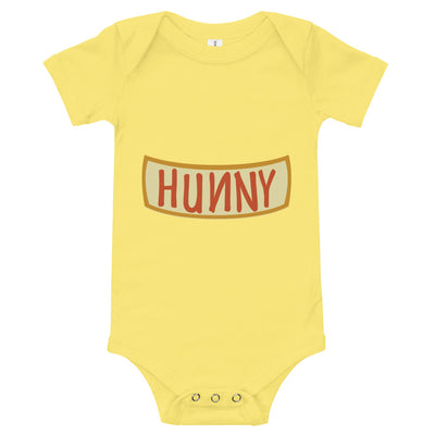 Hunny Infant Yellow Bodysuit