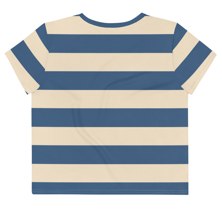 Smee Strip Crop T-Shirt