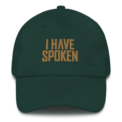 I Have Spoken Green Director Hat