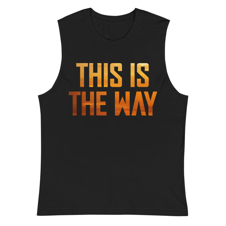 This Is The Way Mens Muscle Tank