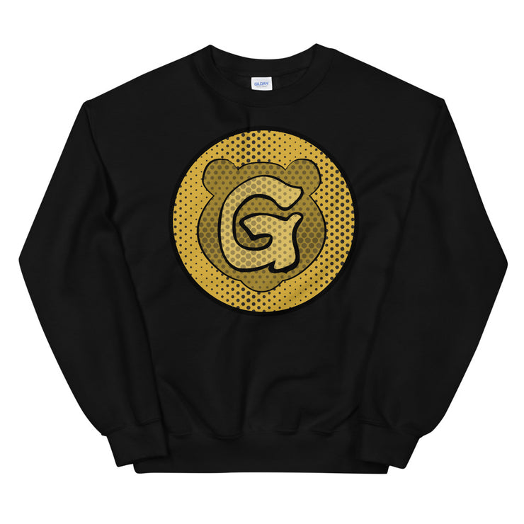Gummi Unisex Black Icon Sweatshirt