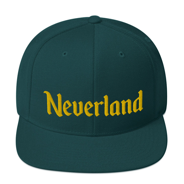 Neverland Forest Snapback Hat