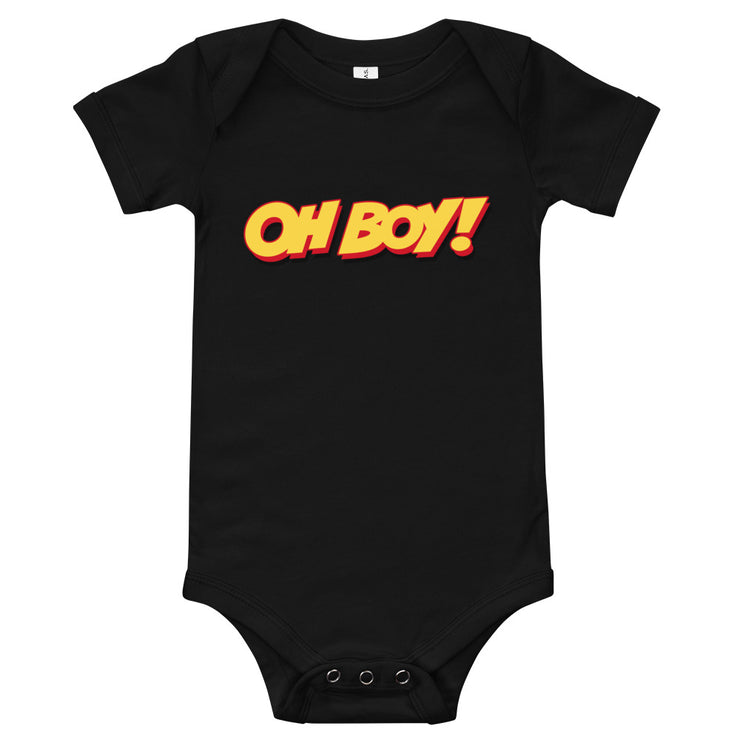 Oh Boy! Signature Black Bodysuit