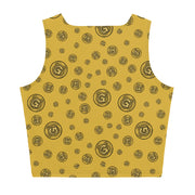 Gummi Gold Crop Tank Top