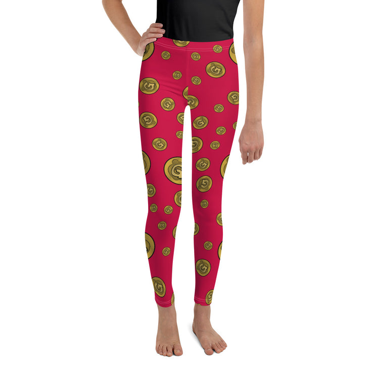 Gummi Youth Red Leggings