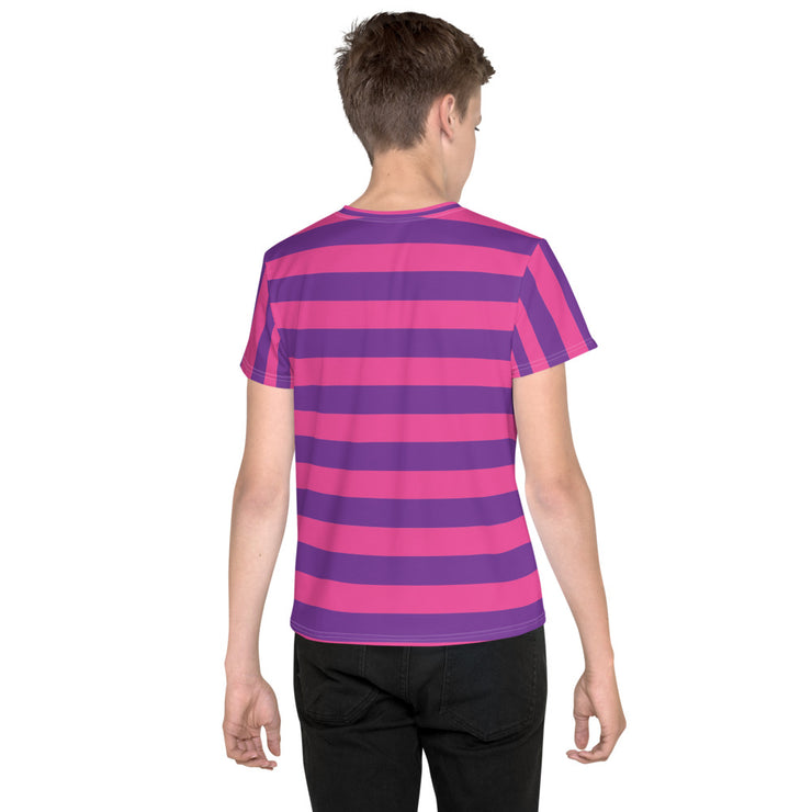 Cheshire Stripe Youth T-Shirt