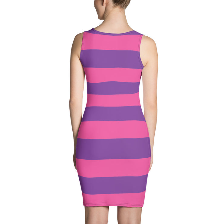 Cheshire Stripe Sleeveless Dress