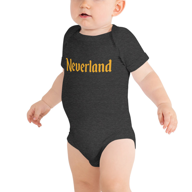 Neverland Infant Dark Heather Bodysuit