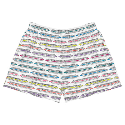 Monorail Womens Athletic Short Shorts