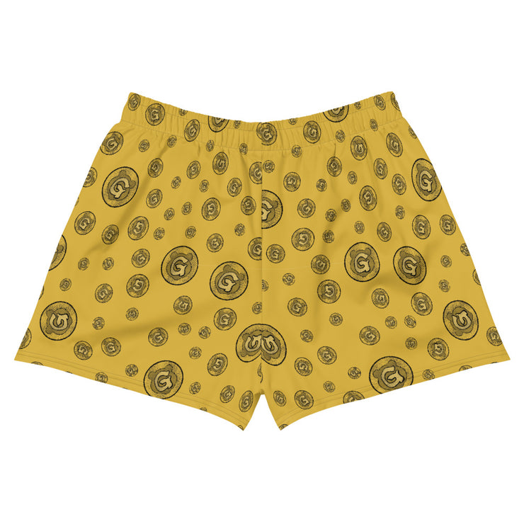 Gummi Gold Womens Athletic Short Shorts