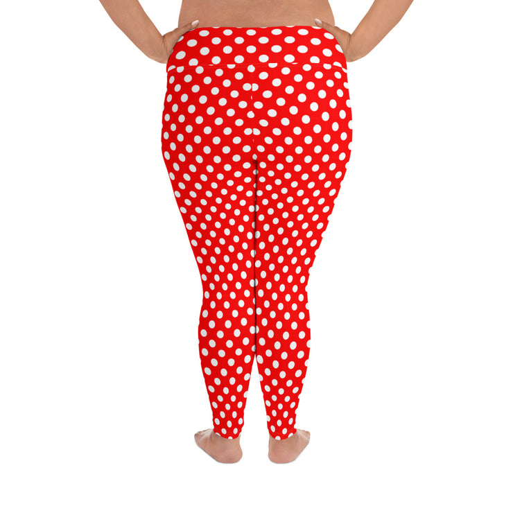 Polka Dot Plus Size Leggings