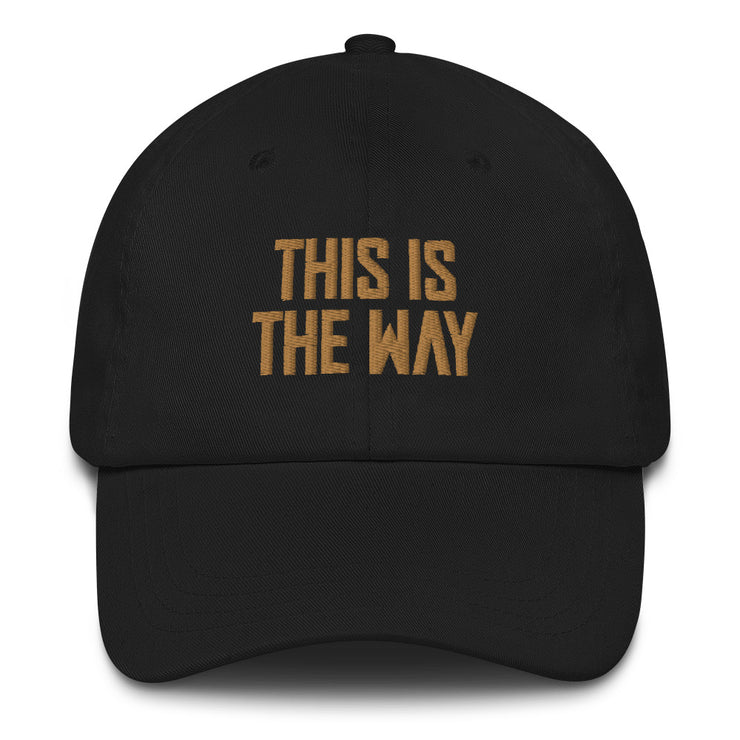 This Is The Way Black Director Hat