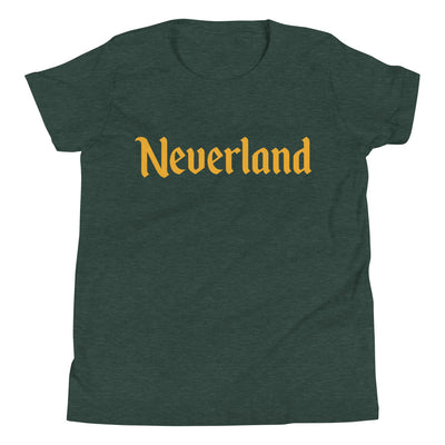 Neverland Youth Heather Forest T-Shirt