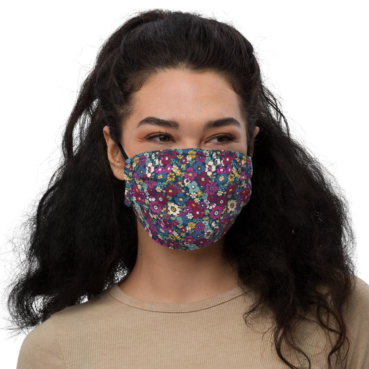 London Floral Face mask