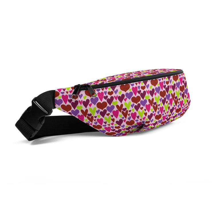 Queen of Hearts Belt Bag