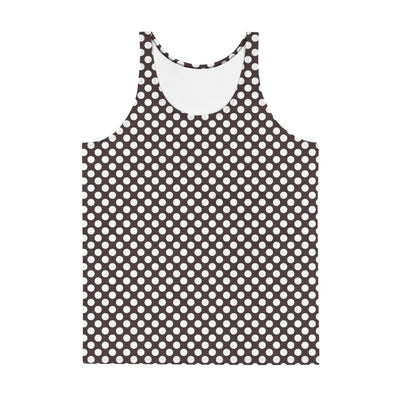 Vintage Dots Mens Tank Top