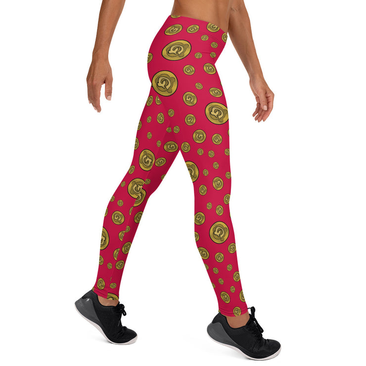 Gummi Red Leggings