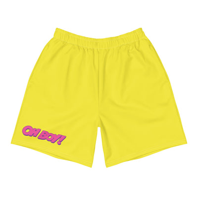 Wonderland Yellow Mens Shorts