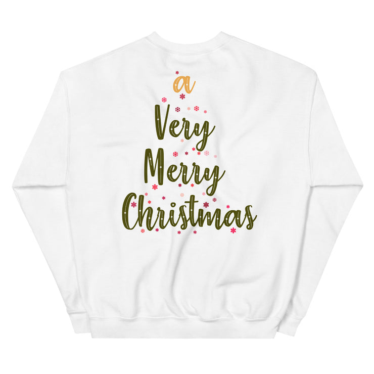 Very Merry Christmas Unisex Sweatshirt