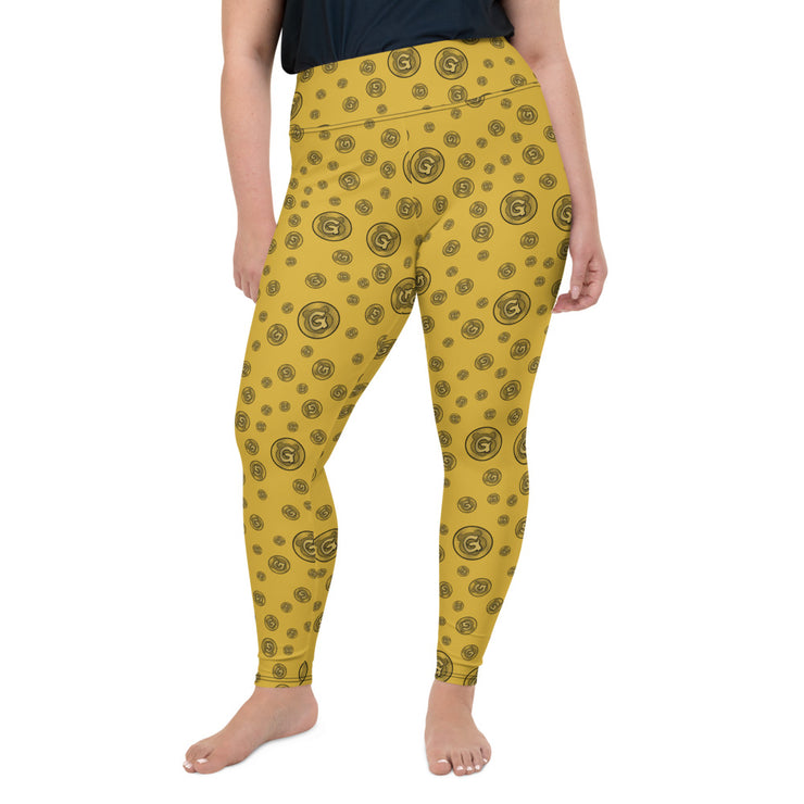 Gummi Gold Plus Size Leggings
