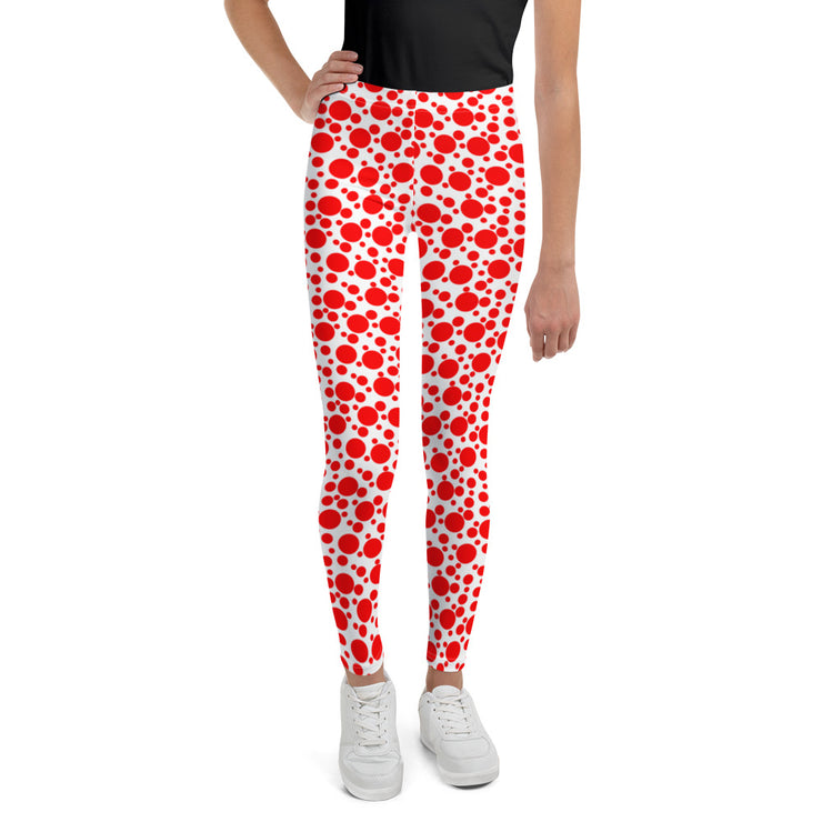 Speckle Dots Youth Leggings