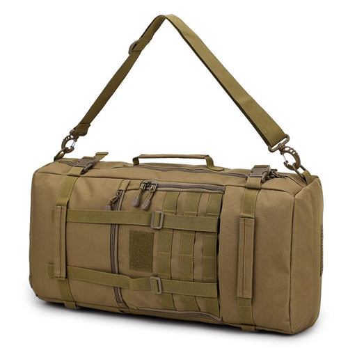 50L Camouflage Waterproof Backpack - Tactical Cave