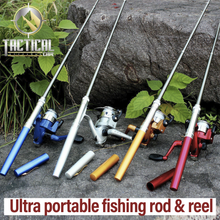 Load image into Gallery viewer, Ultraportable Fishing Rod and Reel