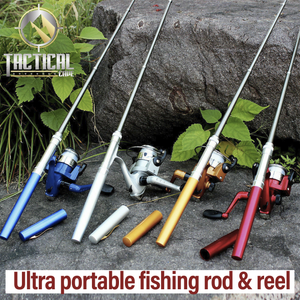 Ultraportable Fishing Rod and Reel