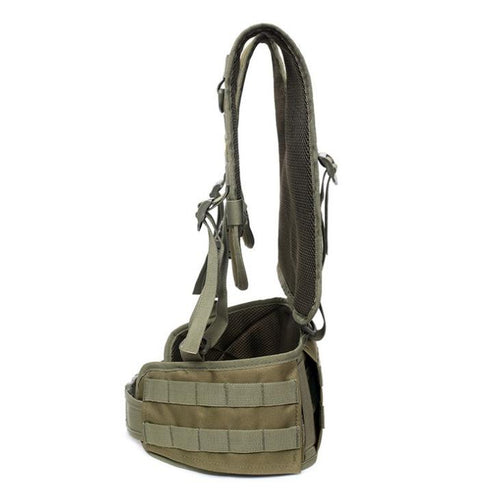 Battle Belt with Shoulder Harness - Tactical Cave