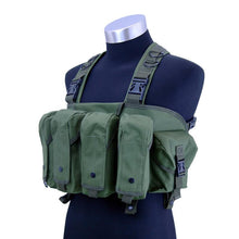 Load image into Gallery viewer, Camouflage Multifunctional Combat Chest Rig - Tactical Cave